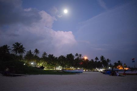 Moonrise, Colva Beach, Goa