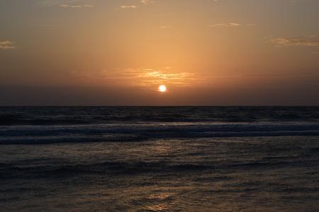 Beautiful Sunset at Colva Beach, Goa
