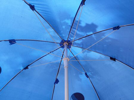 Interior of Umbrella in Monsoon Season