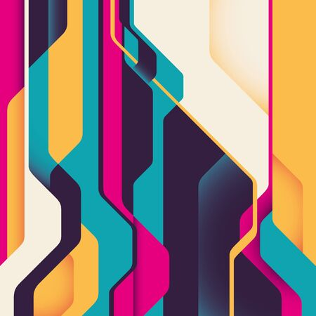 abstraction: Futuristic background with abstraction.