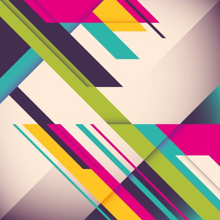 modish: Colorful background with designed elegant abstraction.