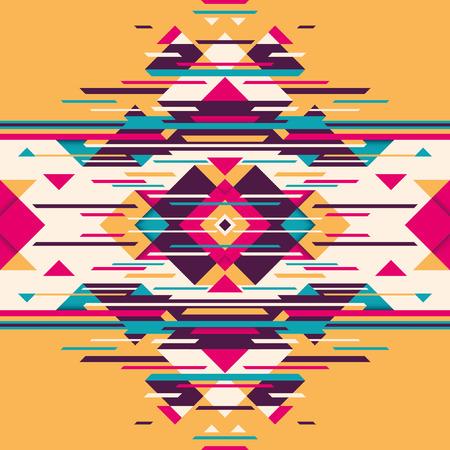 angular: Abstract illustration with angular shapes. Illustration