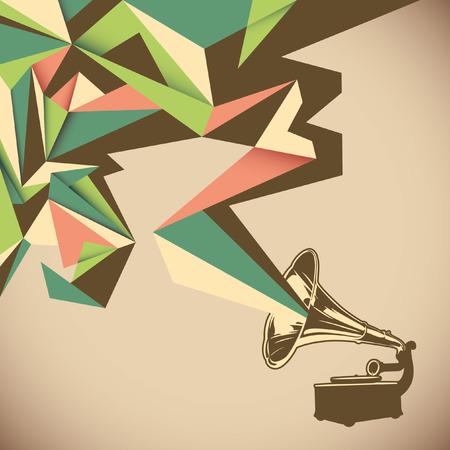 angular: Angular abstraction with old gramophone.