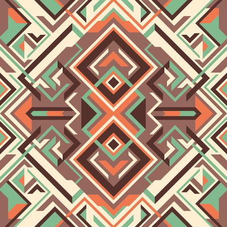 modish: Arabesque with geometric shapes.