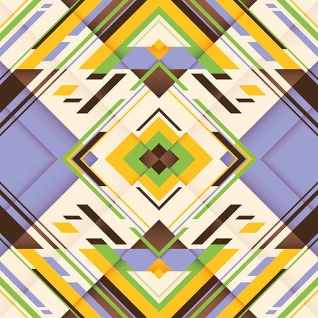 modish: Colorful geometric abstraction.
