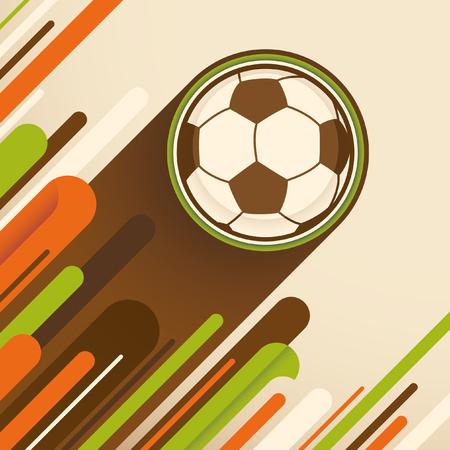 soccer background: Modern soccer background.