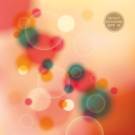 modish: Abstract illustration with bubbles.