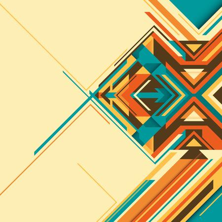 angular: Angular colorful abstraction.