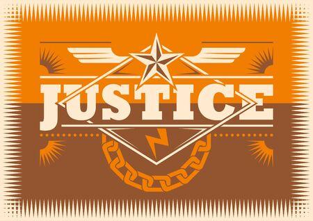 revolt: Justice conceptual poster.