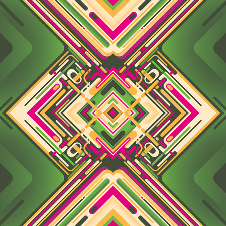 modish: Modern graphic with colorful abstraction.