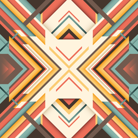 angular: Angular abstraction with geometric objects. Illustration