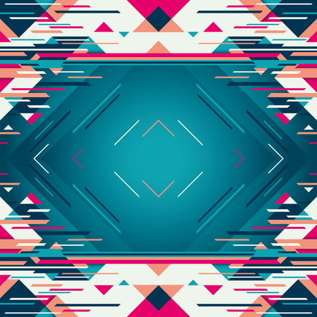 modish: Illustration with abstract elements.