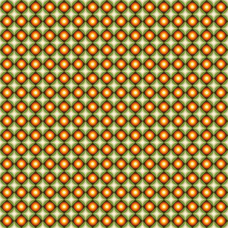 modish: Texture with circles.