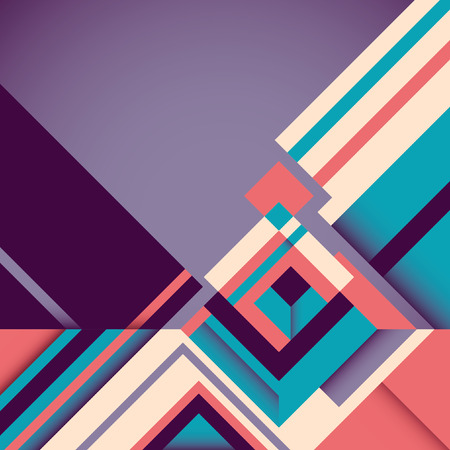 abstraction: Geometric abstraction in color.