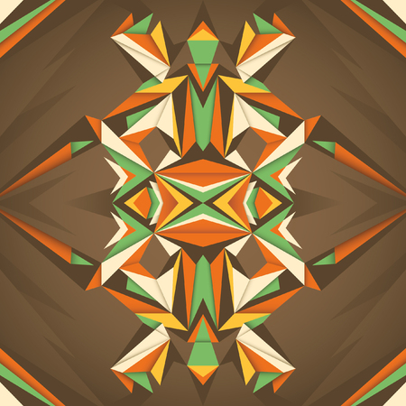 angular: Angular abstraction in color.
