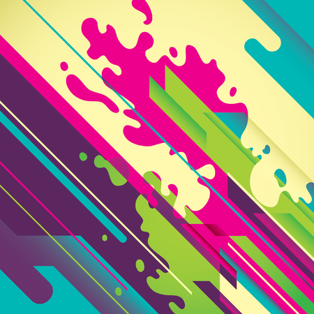 modish: Creative abstract illustration. Illustration