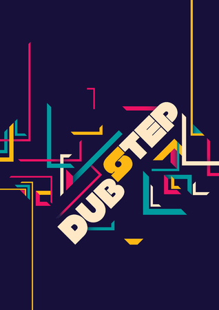 dub: Dub step poster design.