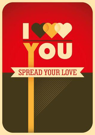 modish: Modish love poster.