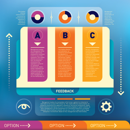 graphic illustration: Modern info graphic illustration.