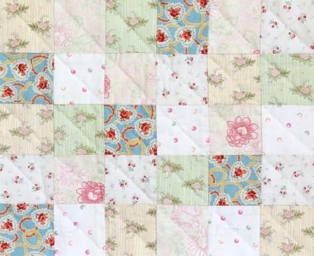 Patchwork Quilt , Classic pattern square