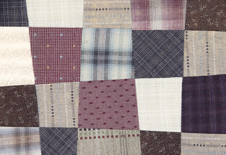 Patchwork Quilt  pattern free form rectangle