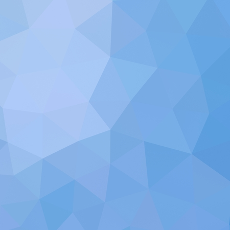 Geometric triangle mosaic background graphic backdrop blue sky gradient concept