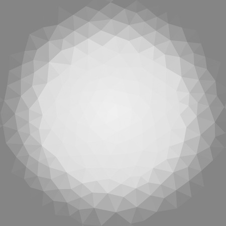 Geometric triangle mosaic background graphic backdrop circle concept