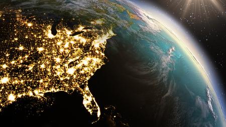 通訊: 地球北美區。