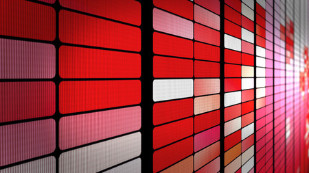 Valentine's day LED panel wall background