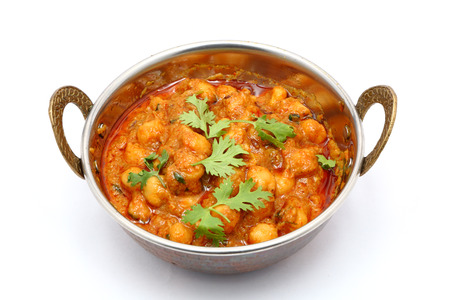 curry: Chana Masala - garbanzos al curry picante