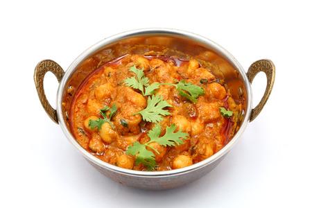 Chana Masala - garbanzos al curry picante