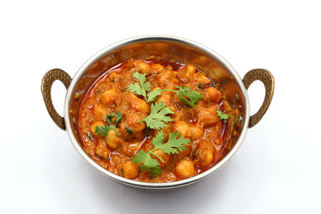 red gram: Chana Masala - Spicy chickpea curry