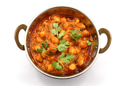 indian animal: Chana Masala - Spicy chickpea curry