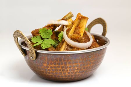 Indian style meat dish or mutton curry