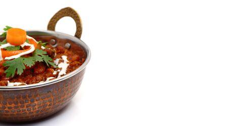 Rajma curry or rajma masala. Indian food curry.