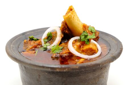 Indian meat dish or mutton curry Reklamní fotografie