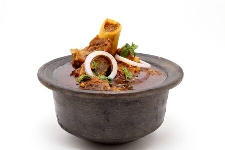 Indian meat dish or mutton curry
