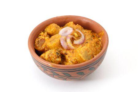 Rajasthani gatta curry or Besan gatte ki sabji