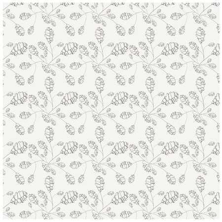 seamless floral background vector pattern for design