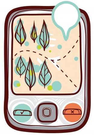 Mobile gps navigator
