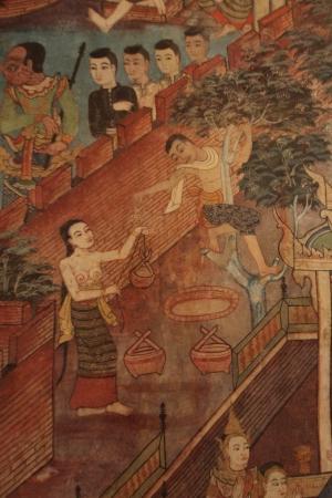 Thai culture art