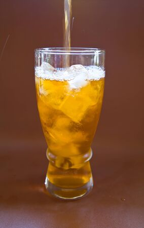 Lemon ice tea photo