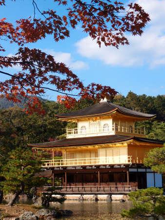 gold temple japan Stock Photo - 19325916