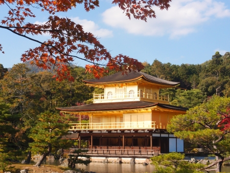 kyoto:  Kinkakuji temple