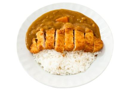 La cocina japonesa, el arroz al curry con chuleta de cerdo