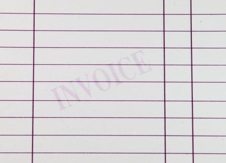 Invoice document photo