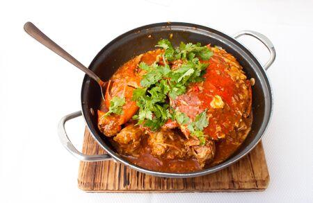 chili crab asia cuisine Stock Photo
