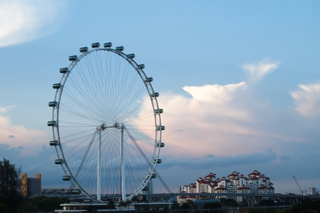Singapore Flyer - largest flyer in the world