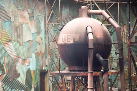 Oil fuel tank