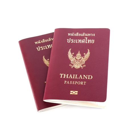 Thailand passport photo